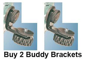 2bb  2 buddy brackets no cord