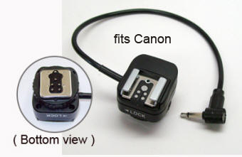 PW-MHSF1-ETTL Retains full ETTL with on camera Canon Speedlight