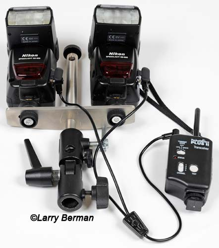 pocket wizards for wireless off camera flash