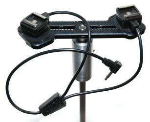 "DSD-YHS Double Strobe Dolly, and ""HS Y cord"""