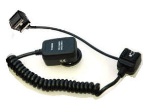 HSFM-ETTL Canon Off Camera Shoe Cord 2 for Pocket Wizard Remote.