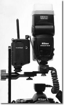 PW-SC28S  Shortened Nikon SC-28 to Pocket Wizard Remote.