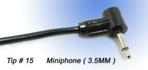 Tip # 15 Miniphone 3.5mm
